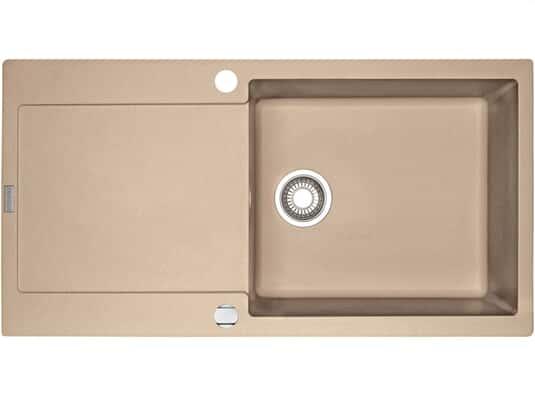Draufsicht vonFranke Maris MRG  611-100 XL Beige Granit-Spüle