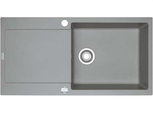 Draufsicht vonFranke Maris MRG  611-100 XL Steingrau Granit-Spüle