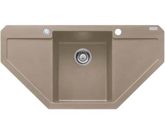 Produktabbildung Franke Maris MRG 612-E Cashmere - 114.0477.557 Granitspüle Exzenterbetätigung