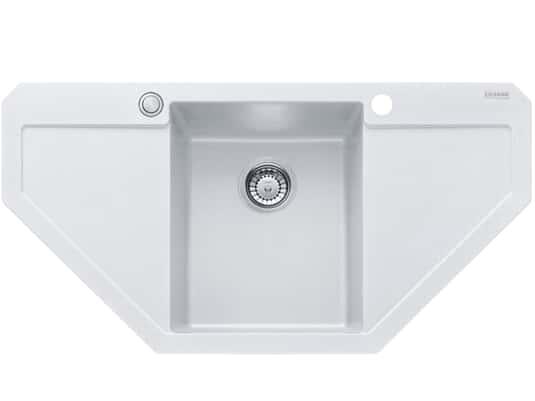 Produktabbildung Franke Maris MRG 612-E Glacier - 114.0477.553 Granitspüle Exzenterbetätigung