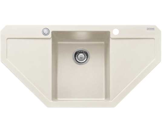 Produktabbildung Franke Maris MRG 612-E Magnolia - 114.0477.554 Granitspüle Exzenterbetätigung