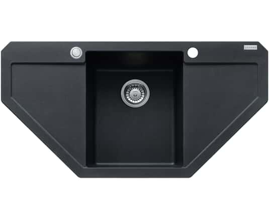 Produktabbildung Franke Maris MRG 612-E Onyx - 114.0477.540 Granitspüle Exzenterbetätigung