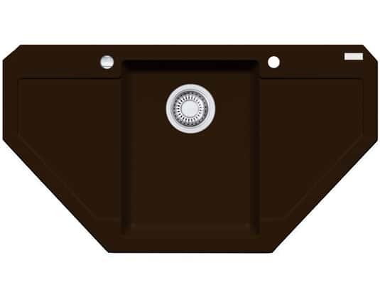 Franke Maris MRG 612-E Chocolate Granitspüle