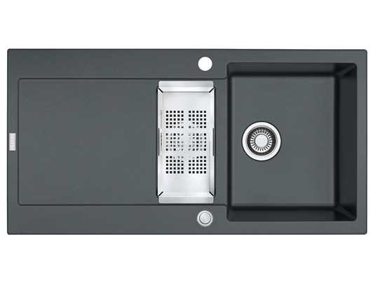 Produktabbildung Franke Maris MRG 651 Graphit - 114.0477.259 Granitspüle Exzenterbetätigung