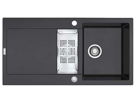 Produktabbildung Franke Maris MRG 651 Onyx - 114.0477.257 Granitspüle Exzenterbetätigung