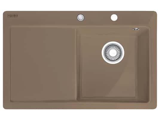 Produktabbildung Franke Mythos MTK 211-78 Cashmere - 10653 Keramikspüle Exzenterbetätigung