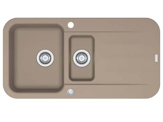 Franke Pebel PBG 651 Cashmere - 114.0477.115 Granitspüle Exzenterbetätigung