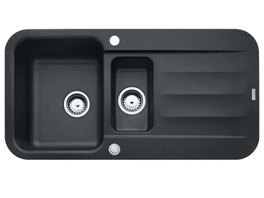Franke Pebel PBG 651 Onyx - 114.0477.108 Granitspüle Exzenterbetätigung