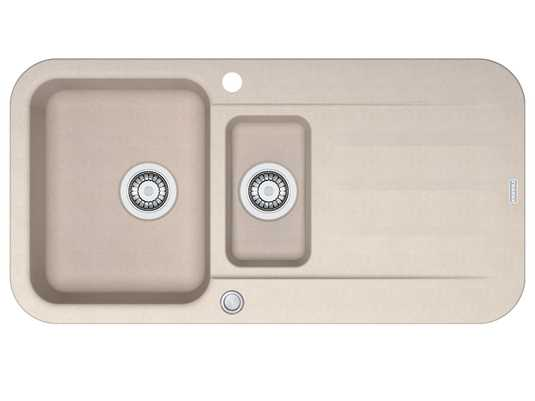 Franke Pebel PBG 651 Sahara - 114.0477.113 Granitspüle Exzenterbetätigung