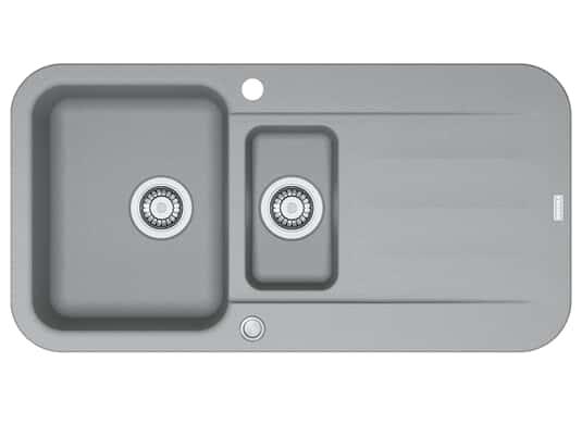 Franke Pebel PBG 651 Steingrau - 114.0477.110 Granitspüle Exzenterbetätigung