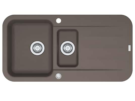 Franke Pebel PBG 651 Umbra - 114.0477.116 Granitspüle Exzenterbetätigung