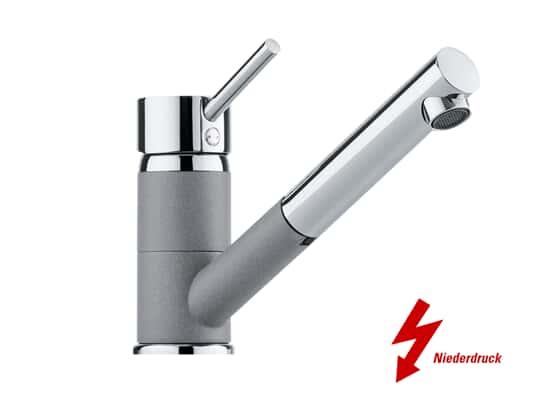 Produktabbildung Franke Sinta Chrom-Steingrau - 11186 Niederdruckarmatur