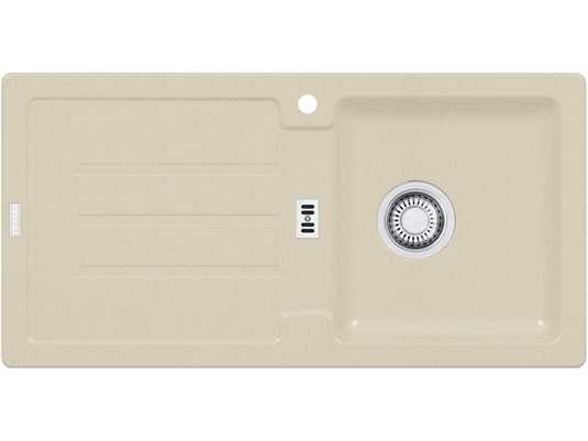 Franke Strata STG 614 Sahara Granitspüle Stopfenventil