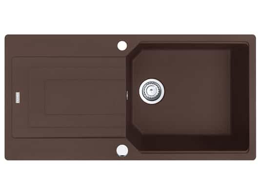 Franke Urban UBG 611-100 Chocolate - 11921 Granitspüle Exzenterbetätigung