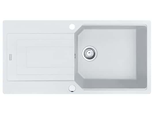 Produktabbildung Franke Urban UBG 611-100 Glacier - 11925 Granitspüle Exzenterbetätigung
