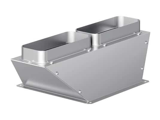 Produktabbildung Gaggenau AD704049 Luftsammler Flachkanal