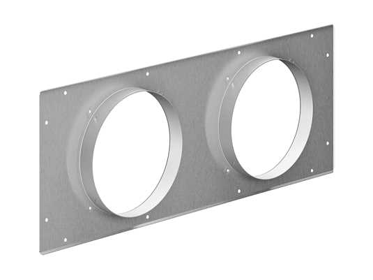 Produktabbildung Gaggenau AD754045 Anschlussstutzen für Aluflexrohr