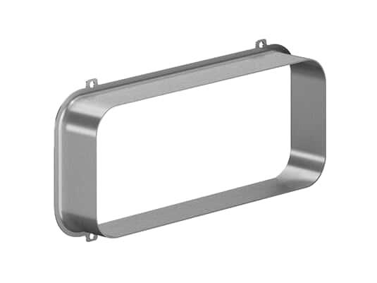 Produktabbildung Gaggenau AD854043 Anschlussstutzen für Flachkanal (2 Stück)