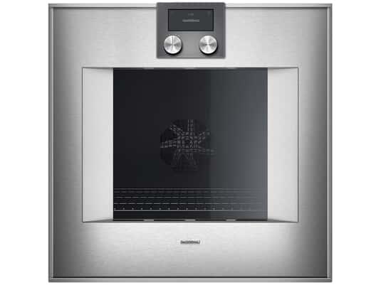 Produktabbildung Gaggenau BO450112 Pyrolyse Backofen Serie 400 Edelstahl/Glas
