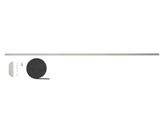 Gorenje 672115 Verbindungsblende Side-by-Side Grau