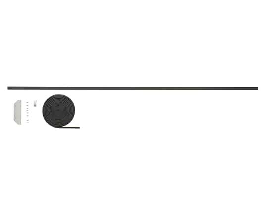 Gorenje 672116 Verbindungsblende Side-by-Side Schwarz