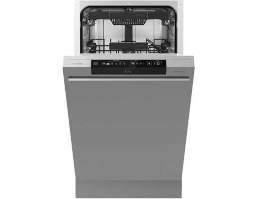 Gorenje GI 55110 S Teilintegrierbarer Einbaugeschirrspüler