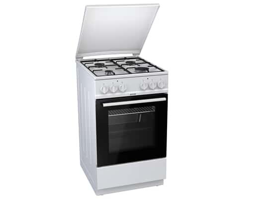 Produktabbildung Gorenje K 5110 WJ Gas Kombi Standherd Weiß