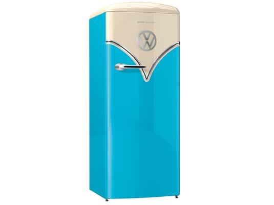 Produktabbildung Gorenje OBRB 153 BL Standkühlschrank Baby Blue
