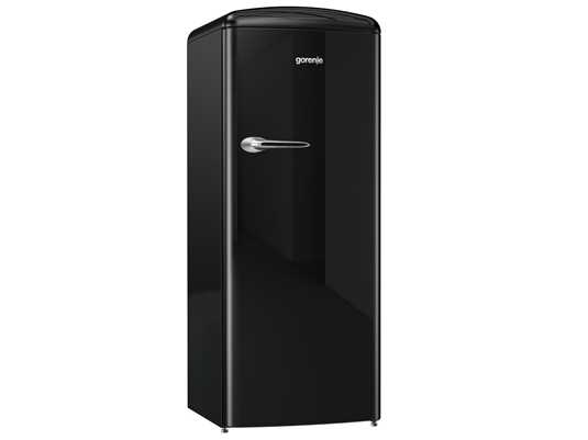 Produktabbildung Gorenje ORB 153 BK Stand Kühlschrank Black