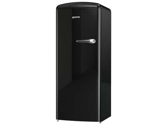Produktabbildung Gorenje ORB 153 BK-L Stand Kühlschrank Black