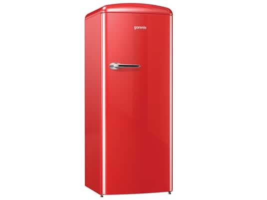 Produktabbildung Gorenje ORB 153 RD Stand Kühlschrank Fire Red