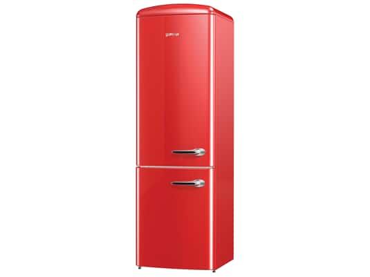 Produktabbildung 1: Gorenje ORK 193 RD-L Stand Kühl-Gefrier-Kombination Fire Red