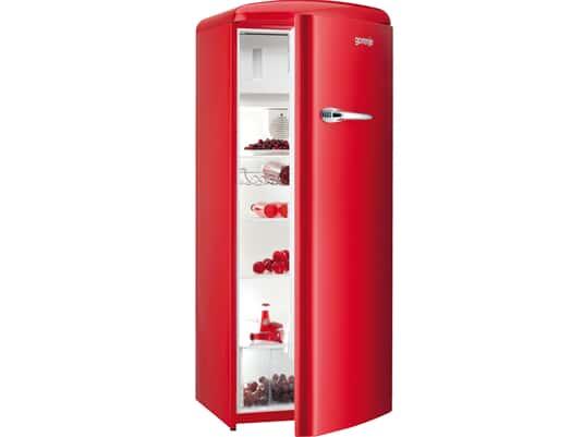 Gorenje RB 60299 ORD Standkühlschrank Rot  B-Ware