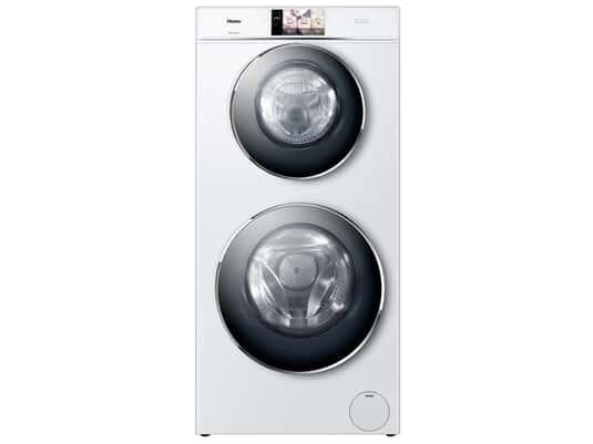 Haier HWD120-B1558U Duo Dry Waschtrockner Weiß