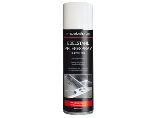 Produktabbildung moebelplus Edelstahl-Pflegespray - Superclean