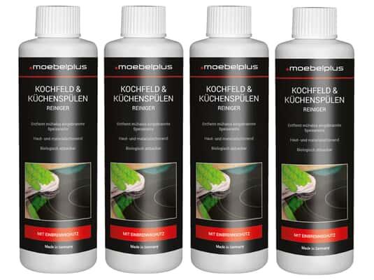 Produktabbildung moebelplus Kochfeld & Küchenspülen Reiniger - 4er Set