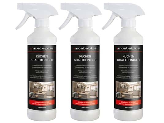 Produktabbildung moebelplus Küchen Kraftreiniger - 3er Set