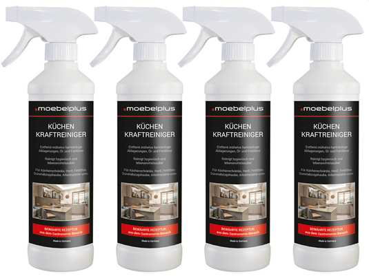 Produktabbildung moebelplus Küchen Kraftreiniger - 4er Set
