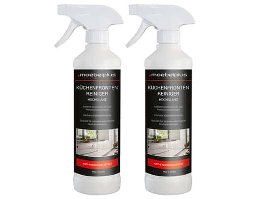 Produktabbildung moebelplus Küchenfronten-Reiniger Hochglanz - 2er Set