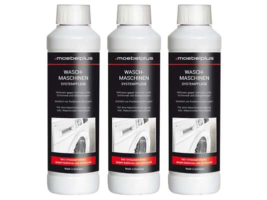 moebelplus Waschmaschinen Systempflege - 3er Set