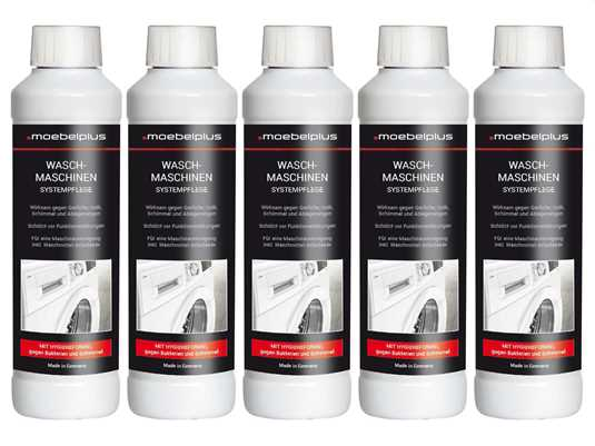 Produktabbildung moebelplus Waschmaschinen Systempflege - 5er Set