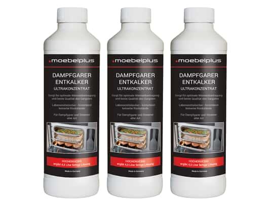 Produktabbildung moebelplus Dampfgarer Entkalker - 3er Set