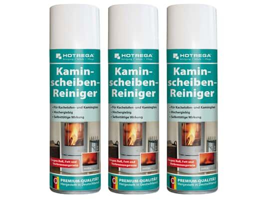 Produktabbildung Hotrega H130907 Kaminscheiben-Reiniger - 3er Set