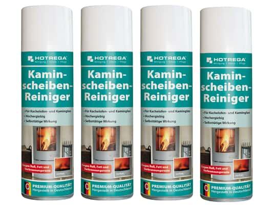 Produktabbildung Hotrega H130907 Kaminscheiben-Reiniger - 4er Set