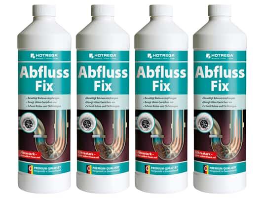 Produktabbildung Hotrega H160405001 Abfluss Fix - 4er Set