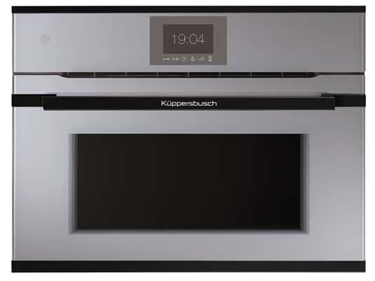 Produktabbildung Küppersbusch CBM 6550.0 G5 K-Series. 5 Compact Backofen mit Mikrowelle Grau/Black Velvet