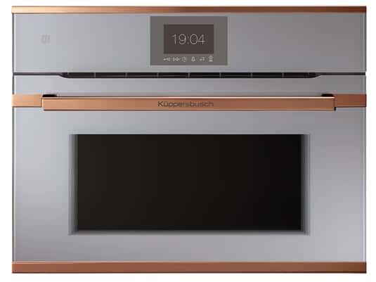 Produktabbildung Küppersbusch CBM 6550.0 G7 K-Series. 5 Compact Backofen mit Mikrowelle Grau/Copper