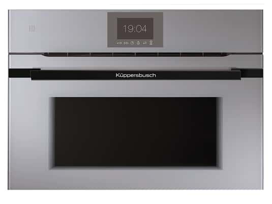 Produktabbildung Küppersbusch CBM 6550.0 GE5 K-Series. 5 Compact Backofen mit Mikrowelle Grau/Black Velvet