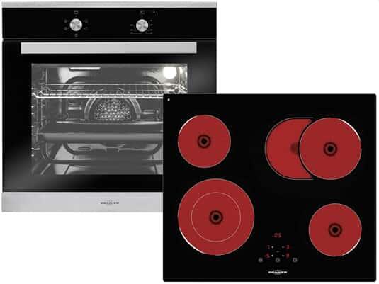 Oranier Clever-Set 1 - 9905 01 Backofen EBS 9911 + Glaskeramikkochfeld KFTC 9965 TC