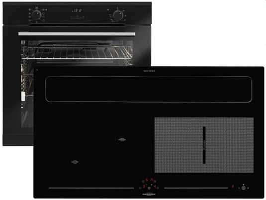 Produktabbildung Oranier Clever-Set 20 - 9905 20 Backofen EBS 9936 + Kochfeldabzug KXI 1092 70 Umluft